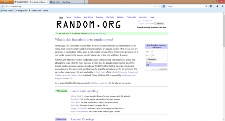 giveaway random.org results may 4th 2014