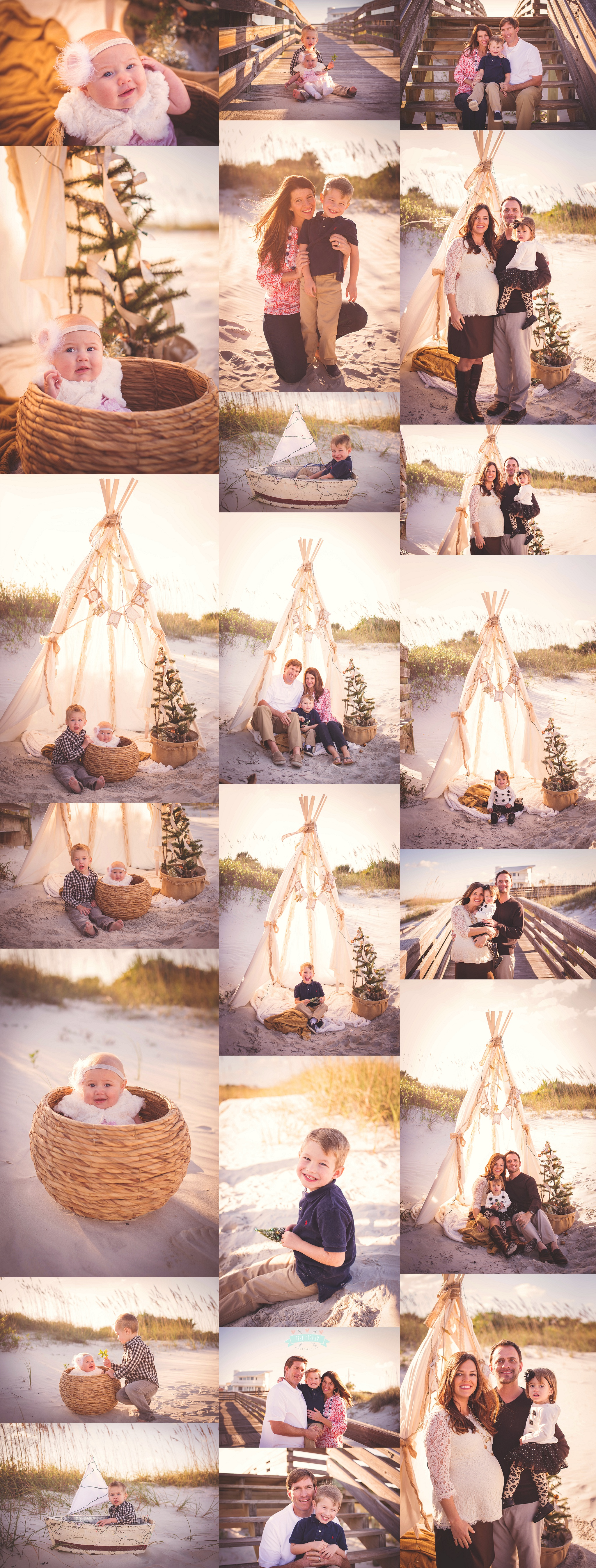 Christmas Holiday Beach Sessions  2014 Tara Merkler Photography Winter Park, Florida Family Photography Central Florida_0039.jpg